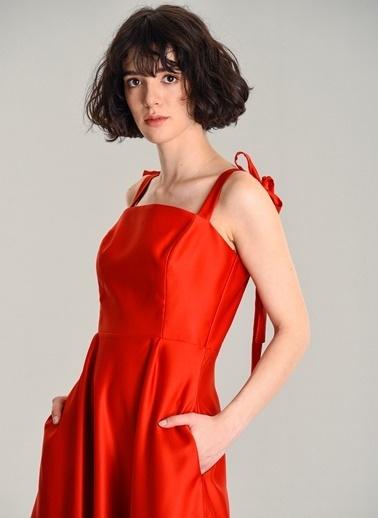 Agenda Elbise Kırmızı